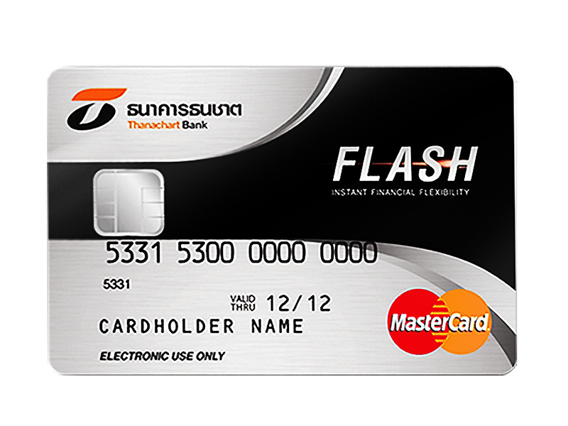 สมัครบัตรผ่อนสินค้า บัตรเครดิตธนชาต