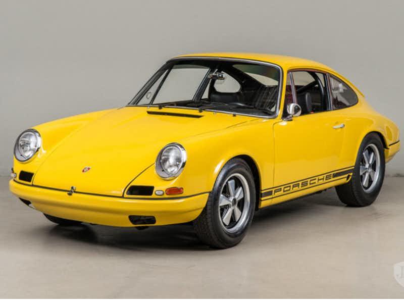 ถังน้ำมัน Porsche 911R