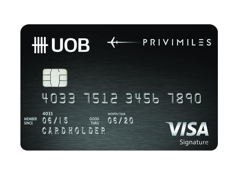 บัตรเครดิต ธนาคารยูโอบี
